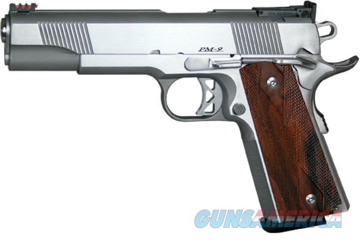 "Dan Wesson Pointman 9mm PM9 Stainless 1911 5"" CZ-USA 01909 *NEW*  Guns > Pistols > Dan Wesson Pistols/Revolvers > 1911 Style"