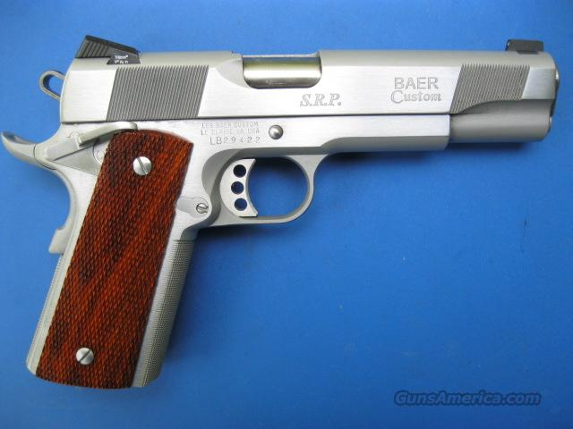 "Les Baer Custom SRP Chrome 45 acp 5"" 1911 *NEW*  Guns > Pistols > Les Baer Pistols"