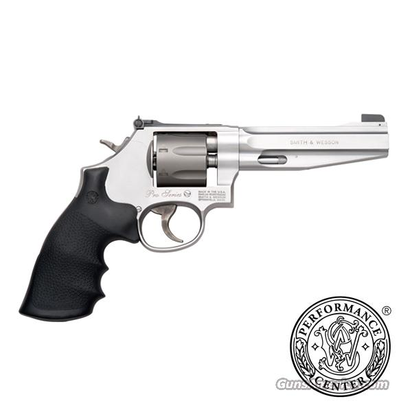 "Smith & Wesson 986 Pro Series 9mm 7 Shot 5"" Moon Clip 178055 *NEW*  Guns > Pistols > Smith & Wesson Revolvers > Performance Center"
