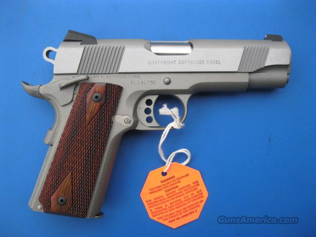 Colt LW Commander XSE .45 acp *NEW* Lightweight 1911 Nickel Stainless 04860XSE  Guns > Pistols > Colt Automatic Pistols (1911 & Var)
