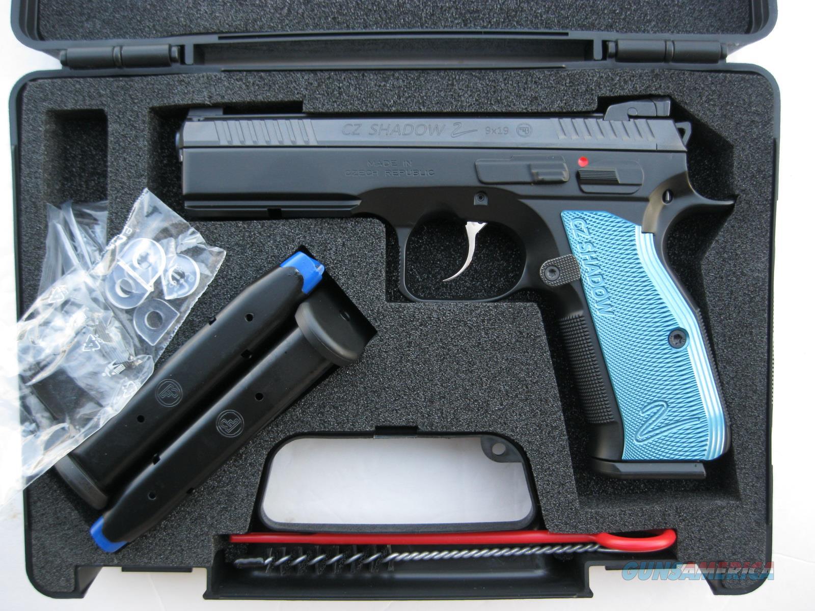 CZ Shadow 2 Black 9mm 3-17 Rd Mags Hajo FO 91257 *NEW*  Guns > Pistols > CZ Pistols