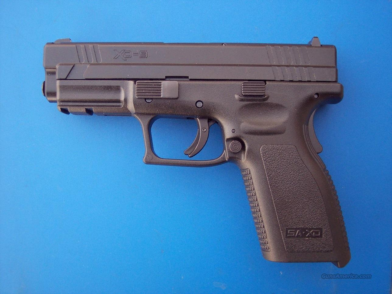 Springfield XD 9mm Gear Pkg Full Size *NEW*  Guns > Pistols > Springfield Armory Pistols > XD (eXtreme Duty)