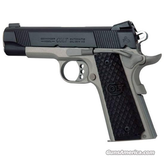Colt LW Commander Elite .45 acp 1911 04860TXT NEW IonBond Cerakote Novak Night Sights   Guns > Pistols > Colt Automatic Pistols (1911 & Var)