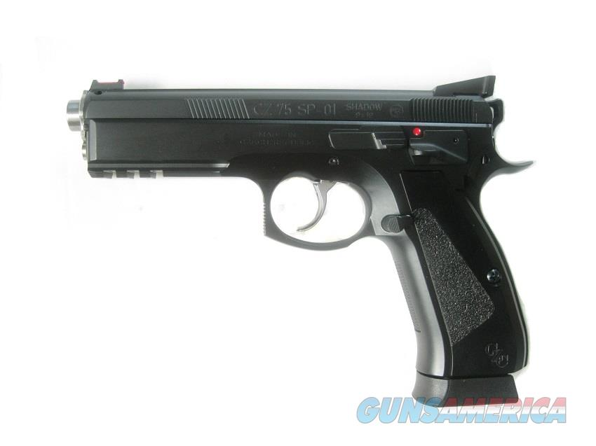 CZ Custom SP-01 Accu Shadow CZC Match Barrel High Grip 9mm 3-18 Rd Mags 91738 *NIB*  Guns > Pistols > CZ Pistols