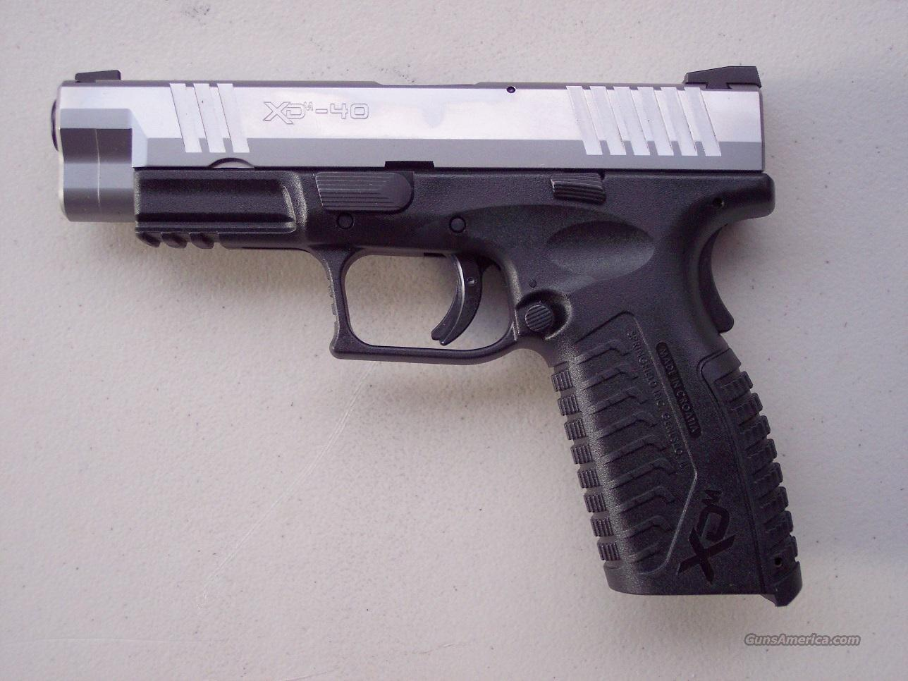 Springfield XDM .40 S&W Stainless 4 mags NIB  Guns > Pistols > Springfield Armory Pistols > XD (eXtreme Duty)