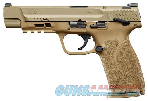 """Smith & Wesson M&P 2.0 9mm FDE 5"""" 2-17rd Mags 11537 NIB  Guns > Pistols > Smith & Wesson Pistols - Autos > Polymer Frame"""