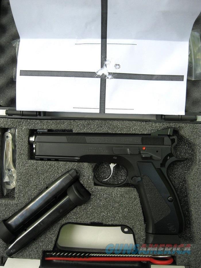 CZ Custom SP-01 Accu Shadow CZC Match Barrel High Grip 9mm 3-18 Rd Mags 91738 *NIB*  Guns > Pistols > CZ Pistols
