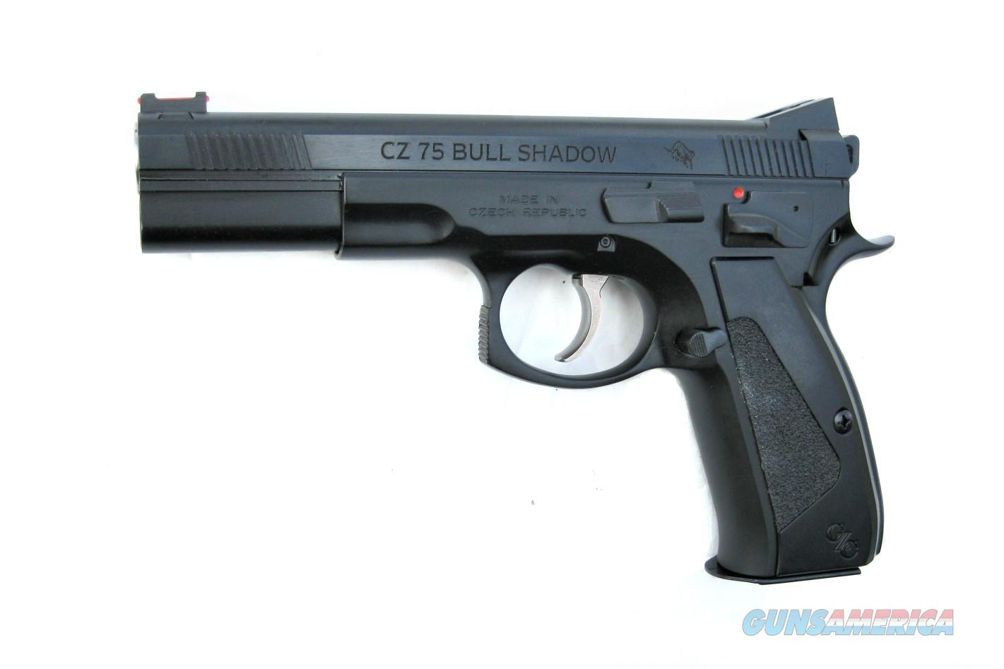CZ 75 Bull Shadow Custom 9mm CZC Bull Barrel 91726  *NEW*  Guns > Pistols > CZ Pistols
