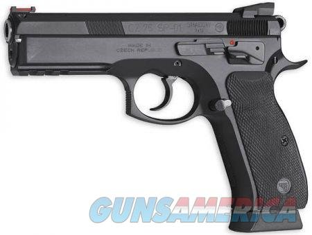 CZ 75 SP-01 Shadow CUSTOM Competition 9mm FO Ext Controls 85 Combat Features 3-18 Rd Mags *NEW* 91154  Guns > Pistols > CZ Pistols