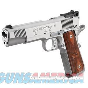 Springfield Trophy Match 45 Stainless 1911 *NEW* PI9140LP  Guns > Pistols > Springfield Armory Pistols > 1911 Type