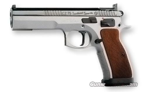 CZ 75 Tactical Sport .40 S&W Two-Tone 3-17 Round Mags*NEW* IPSC  Guns > Pistols > CZ Pistols