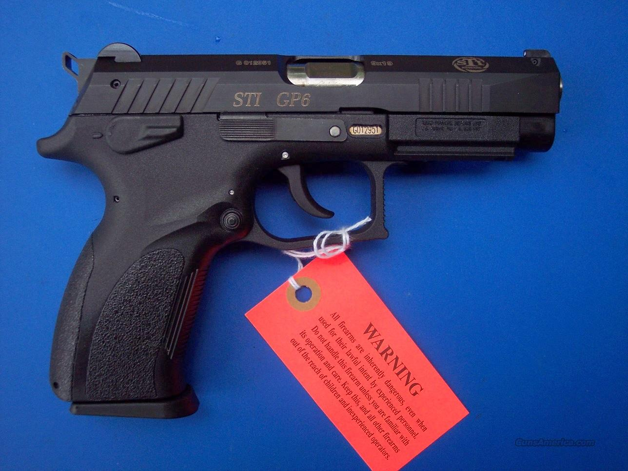 STI GP6 9mm NEW  Guns > Pistols > STI Pistols