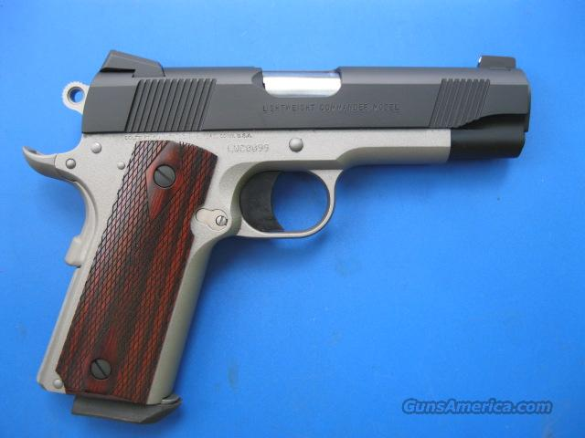 Colt LW Commander .38 Super Two Tone TALO Limited *NEW*  Guns > Pistols > Colt Automatic Pistols (1911 & Var)