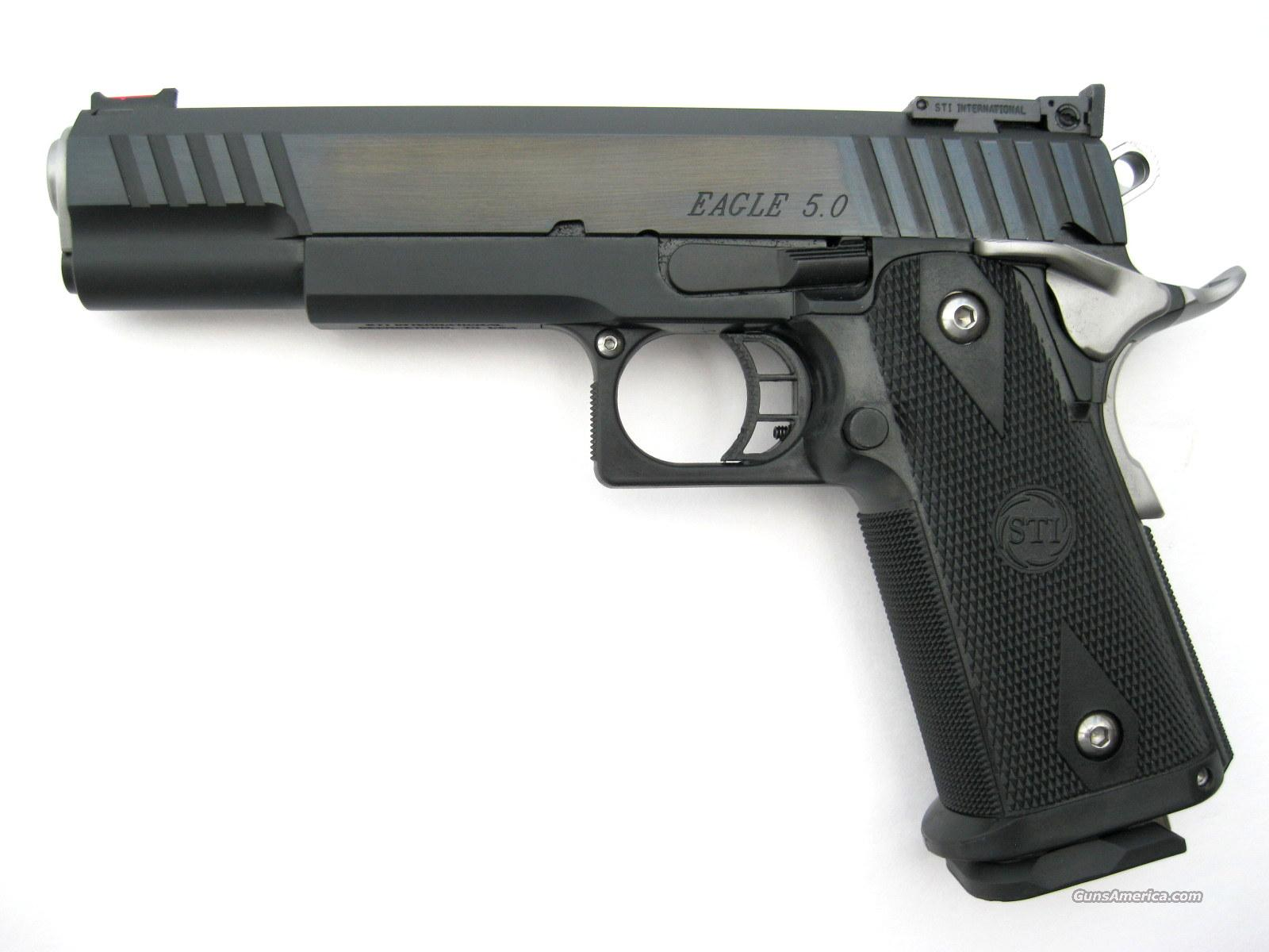 "STI Eagle .40 S&W TRI TOP Slide 5"" Dawson FO *NEW* 2011   Guns > Pistols > STI Pistols"
