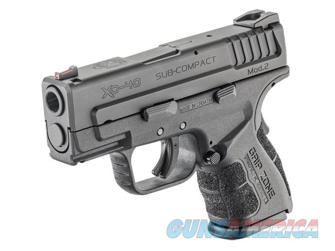 Springfield XD Mod 2 .40 S&W Sub Compact Gear Pkg *NEW* High Cap XDG9802HCSP  Guns > Pistols > Springfield Armory Pistols > XD (eXtreme Duty)