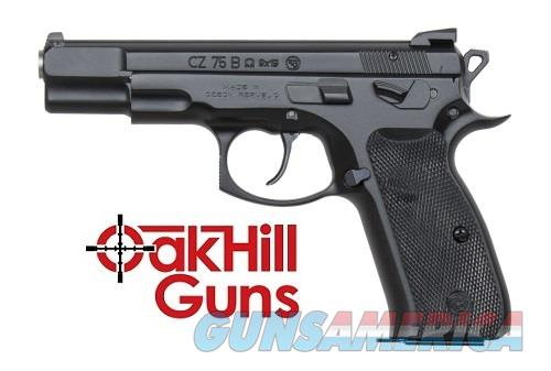 CZ 75B Omega Convertible Decocker 9mm 16 Rd Mags 91136 *NEW*  Guns > Pistols > CZ Pistols