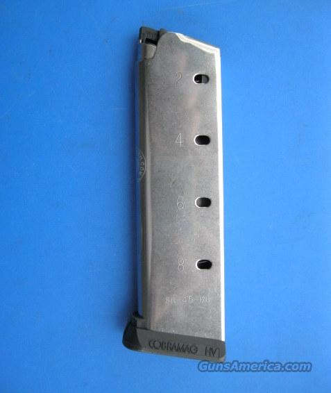 Tripp Research Cobra MAG .45 acp 8 round 1911 Stainless MAG *NEW*  Non-Guns > Magazines & Clips > Pistol Magazines > 1911