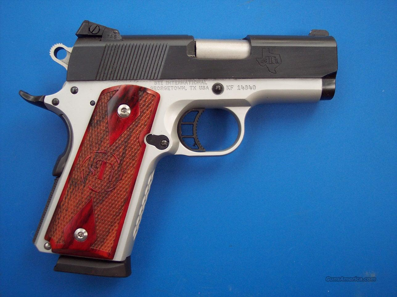 STI Escort 9mm Officer Custom 1911 *NEW* FREE Shipping  Guns > Pistols > STI Pistols