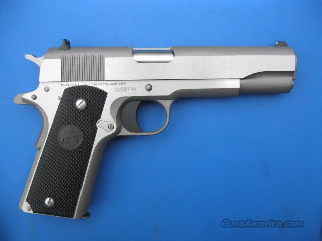Colt 1991A1 45 acp Classic Government Stainless 1911 *NEW*  Guns > Pistols > Colt Automatic Pistols (1911 & Var)