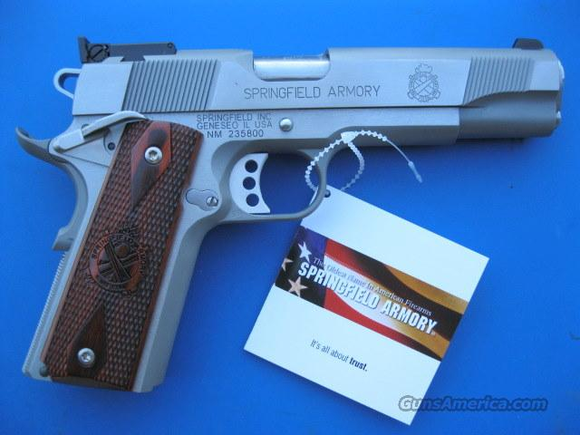Springfield Loaded Target 1911 Stainless 45 acp *NEW*  Guns > Pistols > Springfield Armory Pistols > 1911 Type