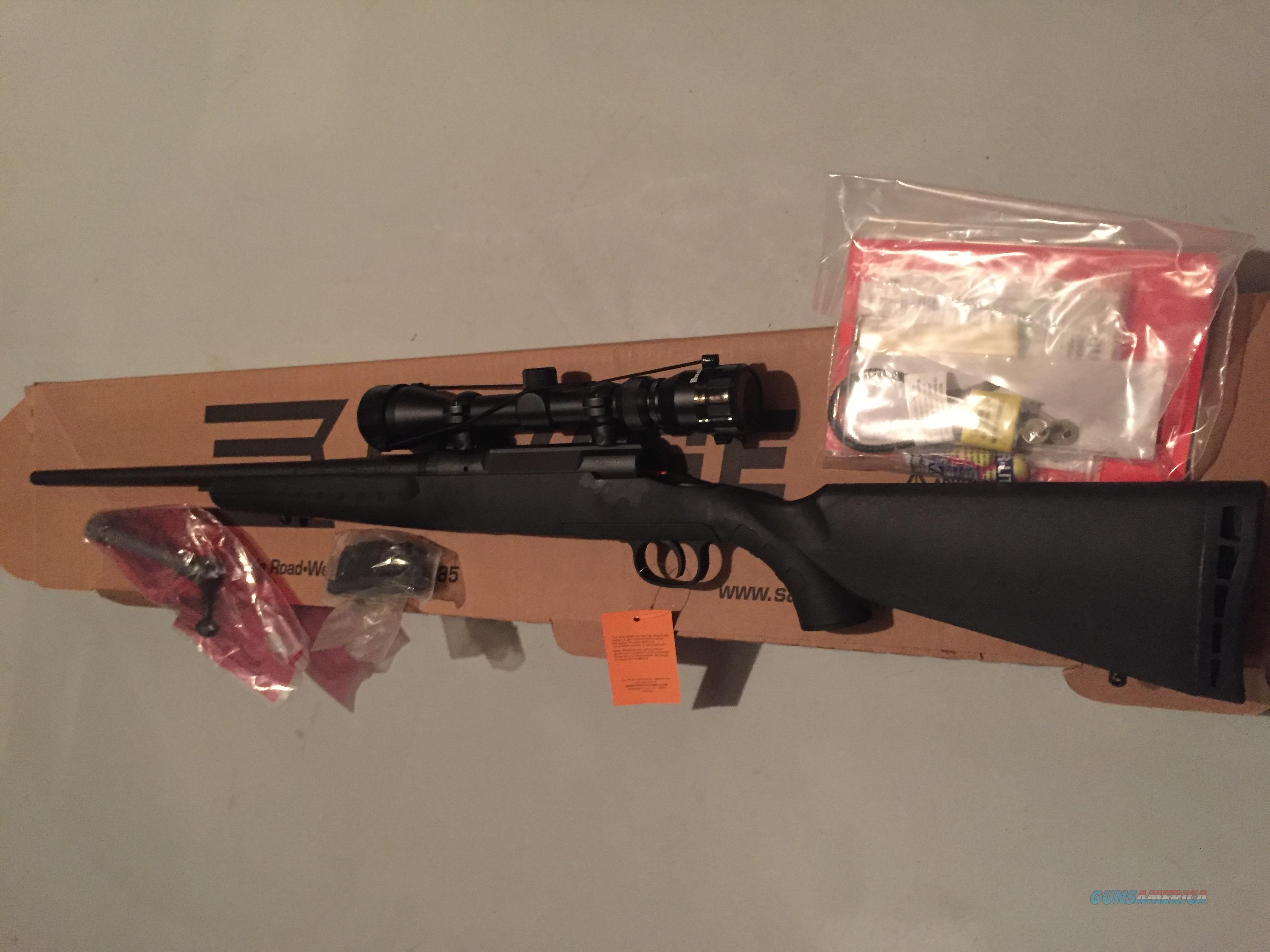 NEW Savage Axis .223 bolt rifle Bushnell scope 19228  Guns > Rifles > Savage Rifles > Axis