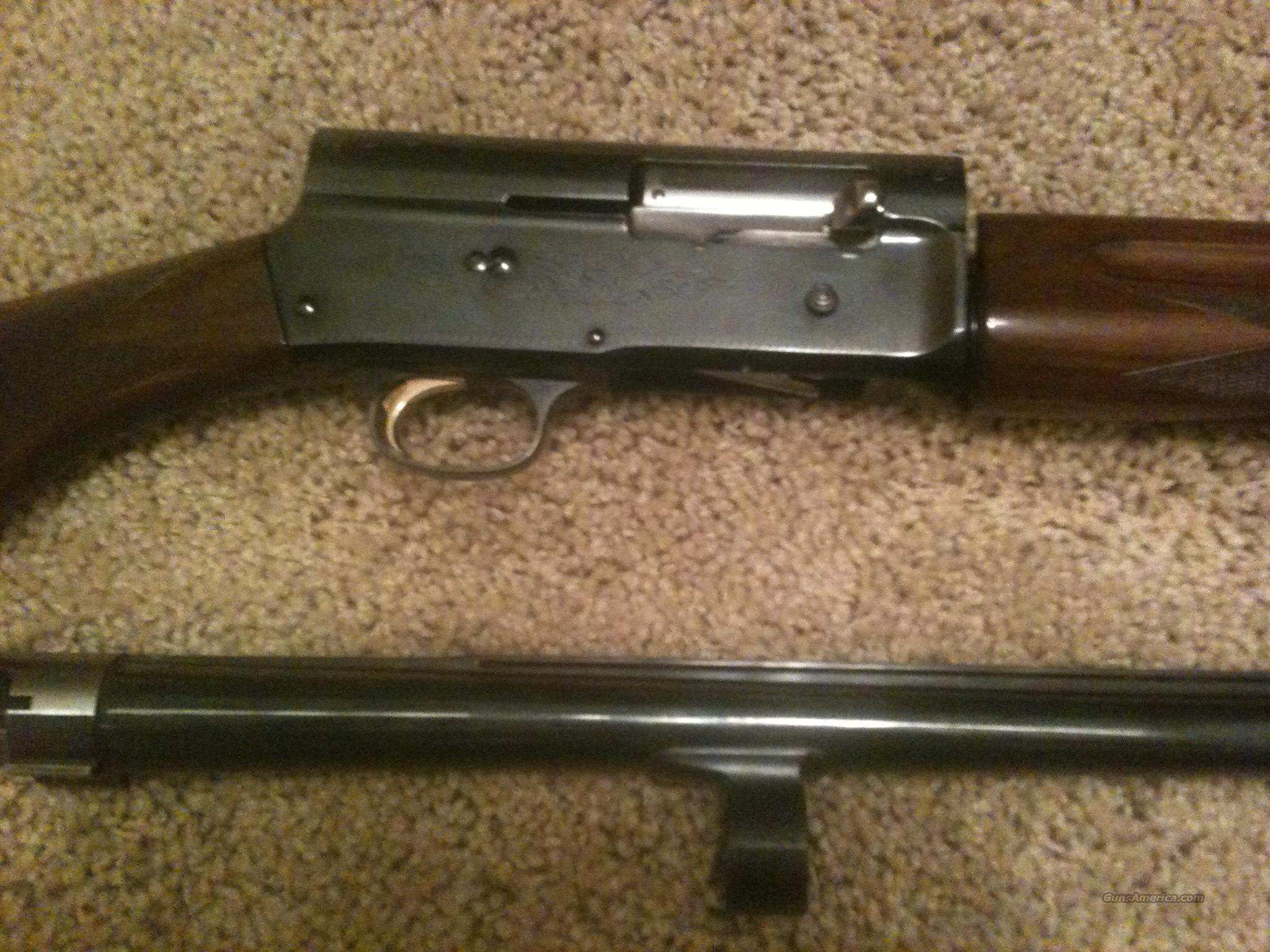 "Browning A5 12 Gauge Auto 5 Japanese 28"" For Sale"