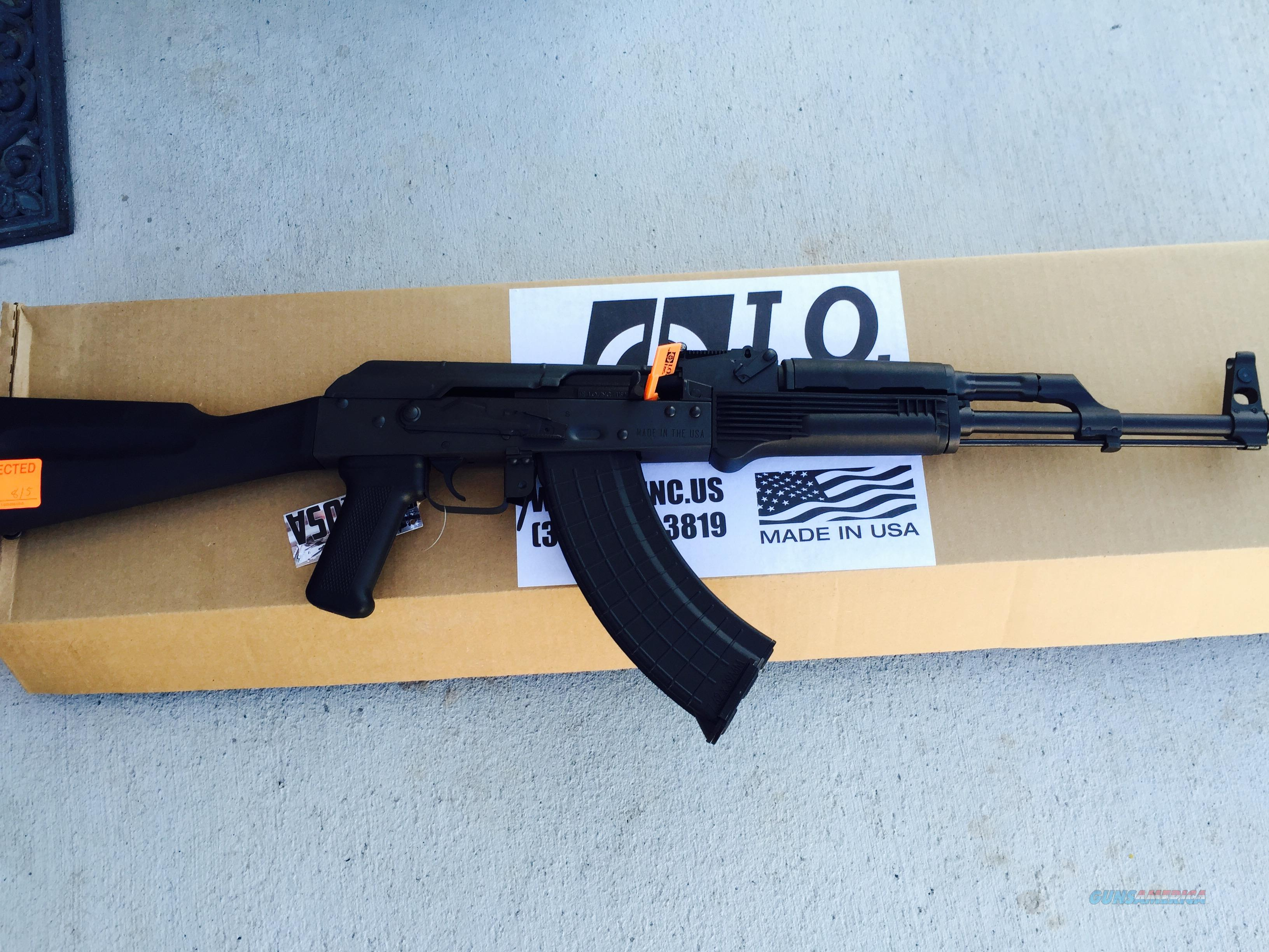 NEW I.O. Inc AK47 Inter Ordnance AKM47 7.62x39 semi auto rifle  Guns > Rifles > IJ Misc Rifles