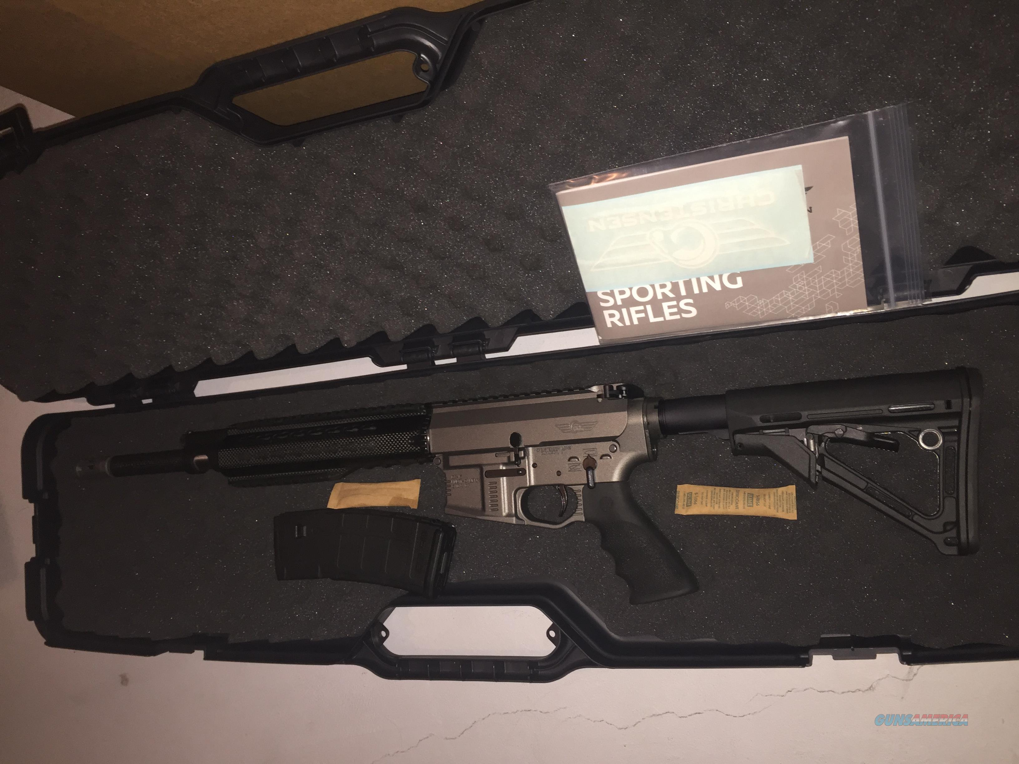 "NEW Christensen Arms CA-15 Recon Tungsten AR15 piston 5.56 carbon 16"" barrel  Guns > Rifles > C Misc Rifles"