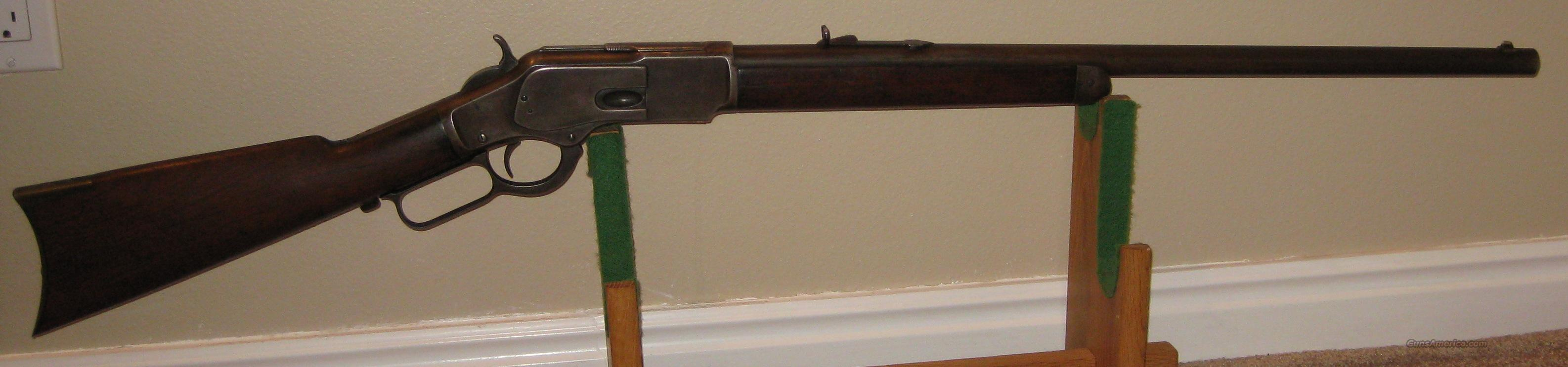 Winchester 1873 RBHMCB 44 WCF 44-40 Antique 1889  Guns > Rifles > Winchester Rifles - Pre-1899 Lever
