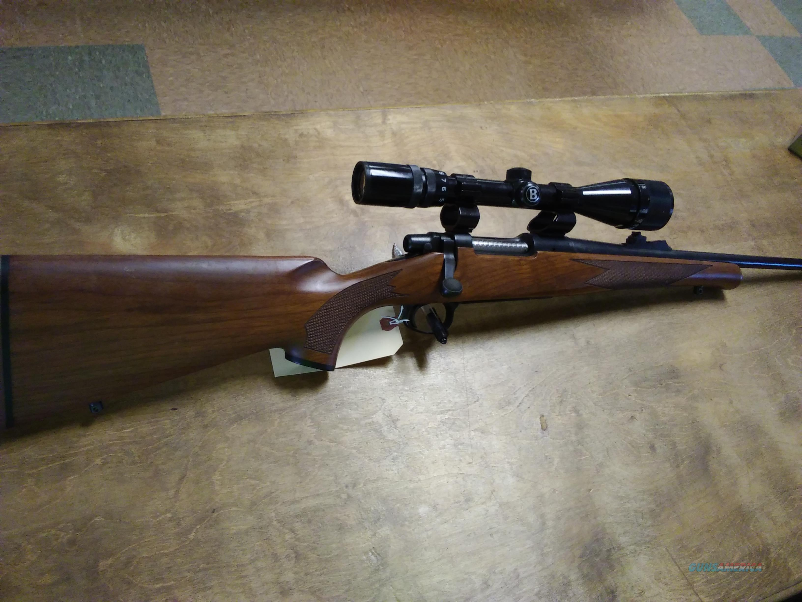 Remington model Seven 7mm-08 with 4x12x40 Bushnell scope  Guns > Rifles > Remington Rifles - Modern > Bolt Action Non-Model 700 > Sporting