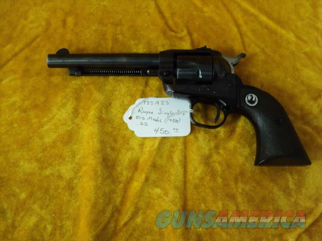 Ruger OM Single Six .22  Guns > Pistols > Ruger Single Action Revolvers > Single Six Type