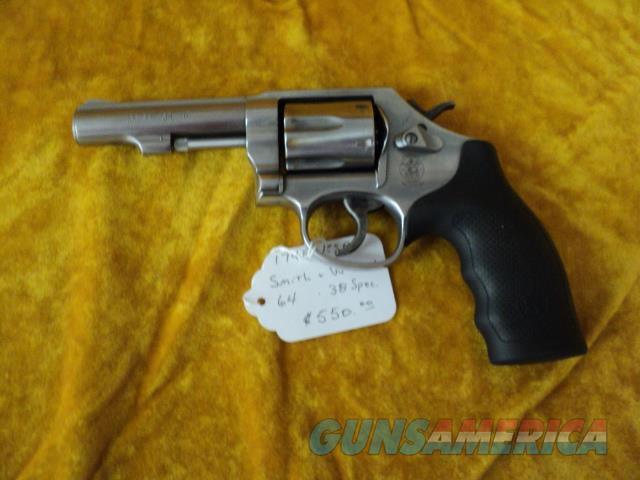 Smith & Wesson 64-8 .38 Special  Guns > Pistols > Smith & Wesson Revolvers > Med. Frame ( K/L )