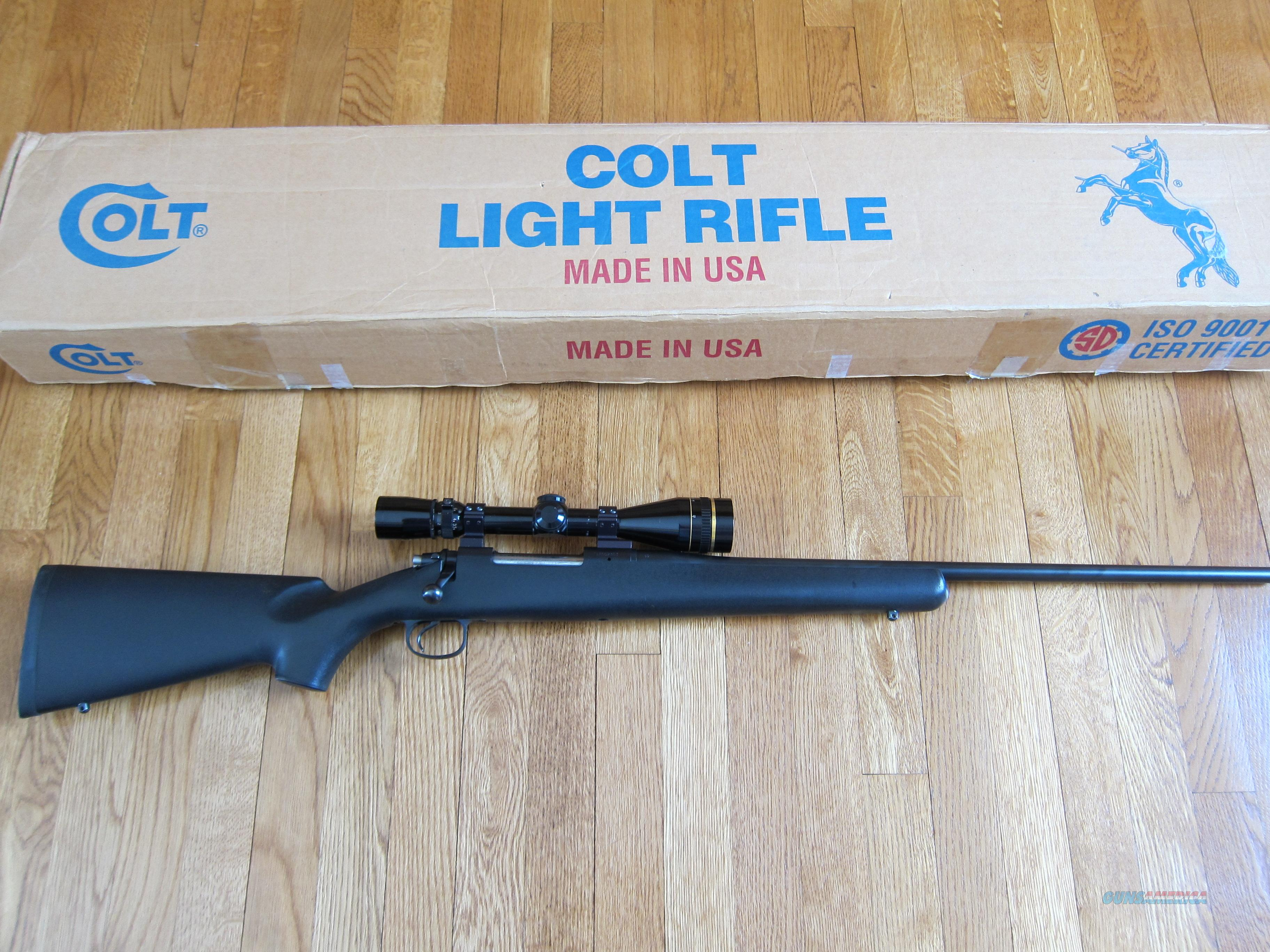 COLT LIGHT RIFLE, 30-06 (USED)  Guns > Rifles > Colt Rifles - Non-AR15 Modern Rifles