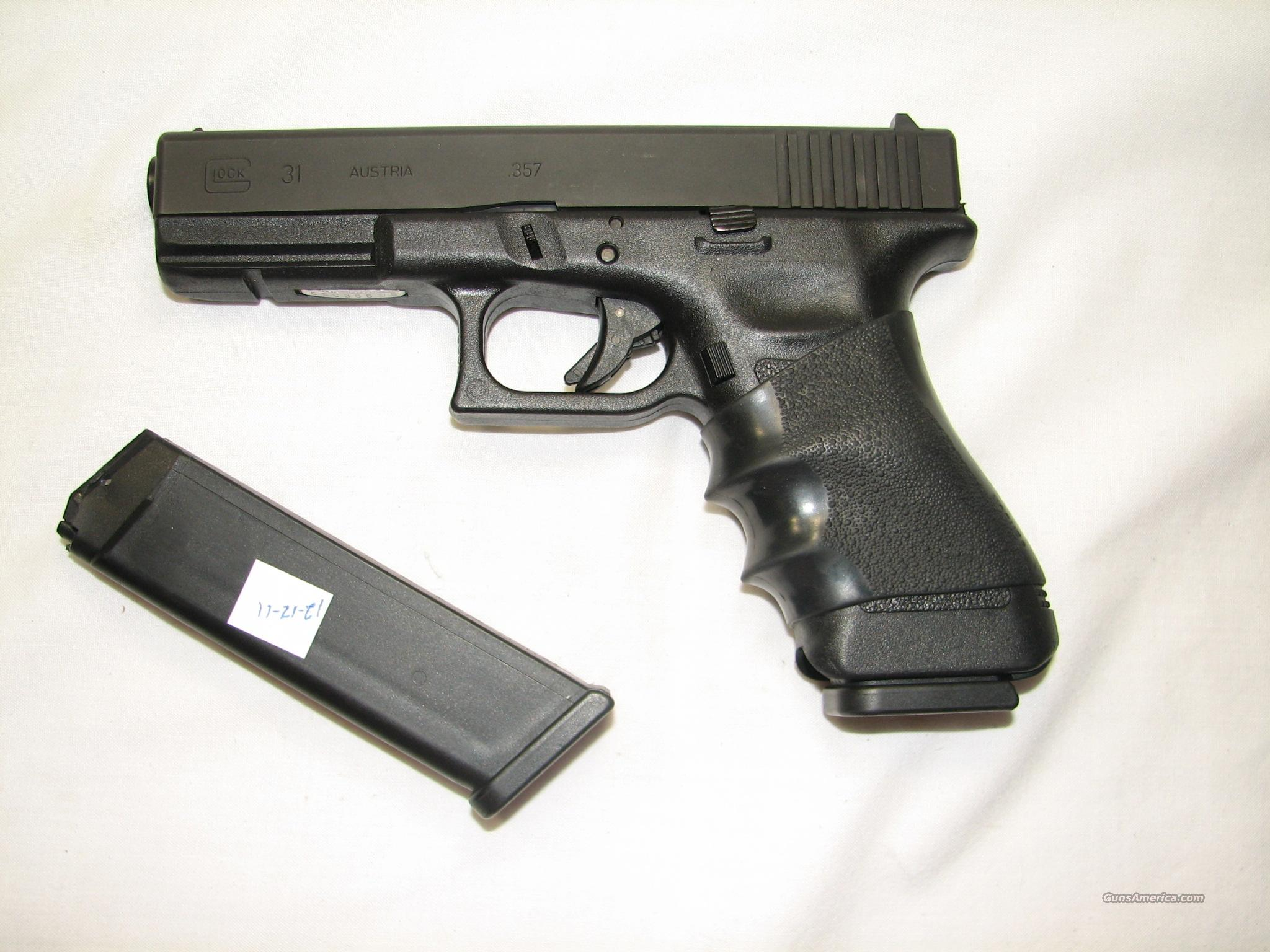 Glock 31 .357 Sig gently used with 2 mags  Guns > Pistols > Glock Pistols > 31/32/33