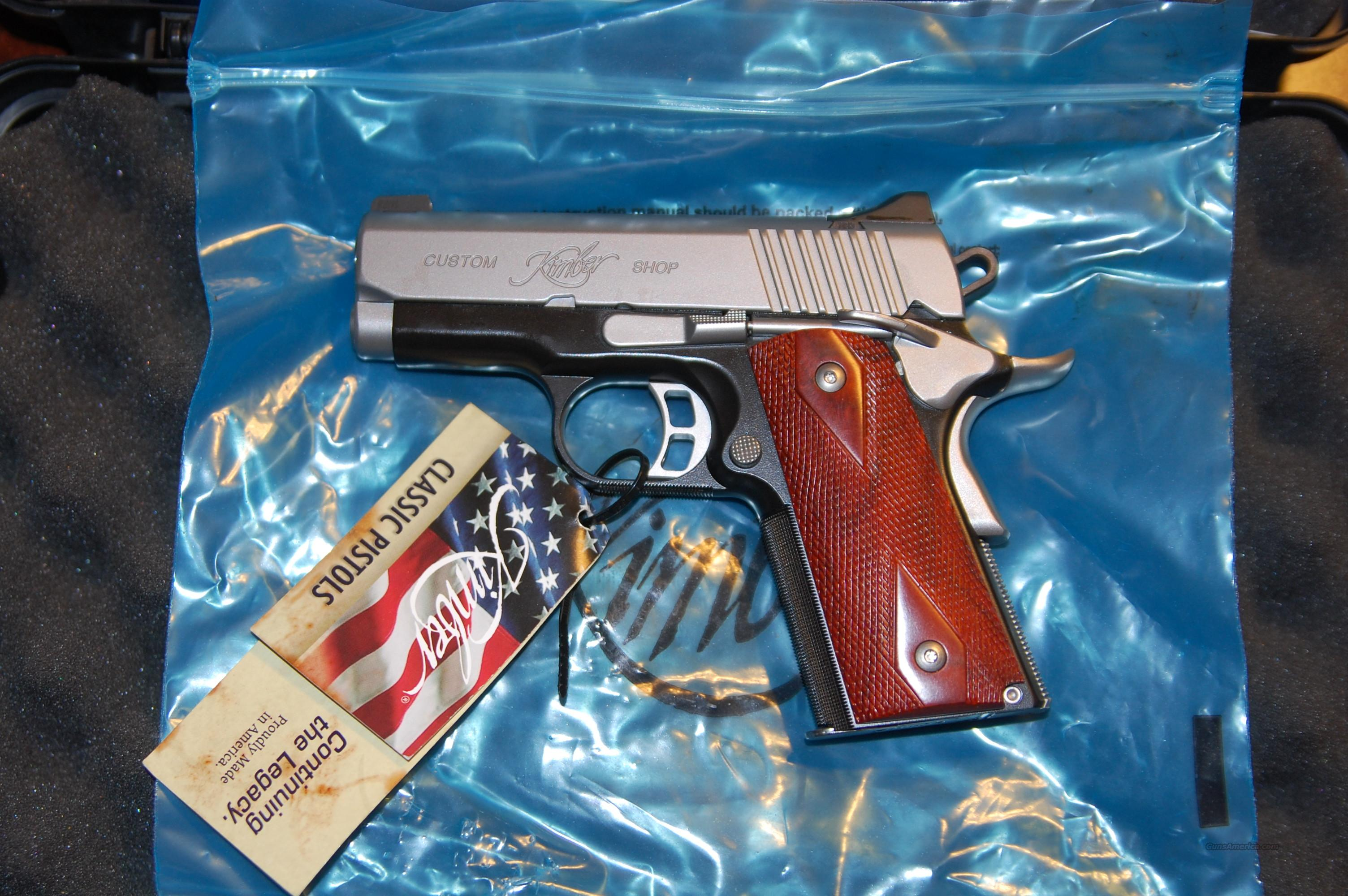 Kimber Ultra CDP II in 9mm  Guns > Pistols > Kimber of America Pistols