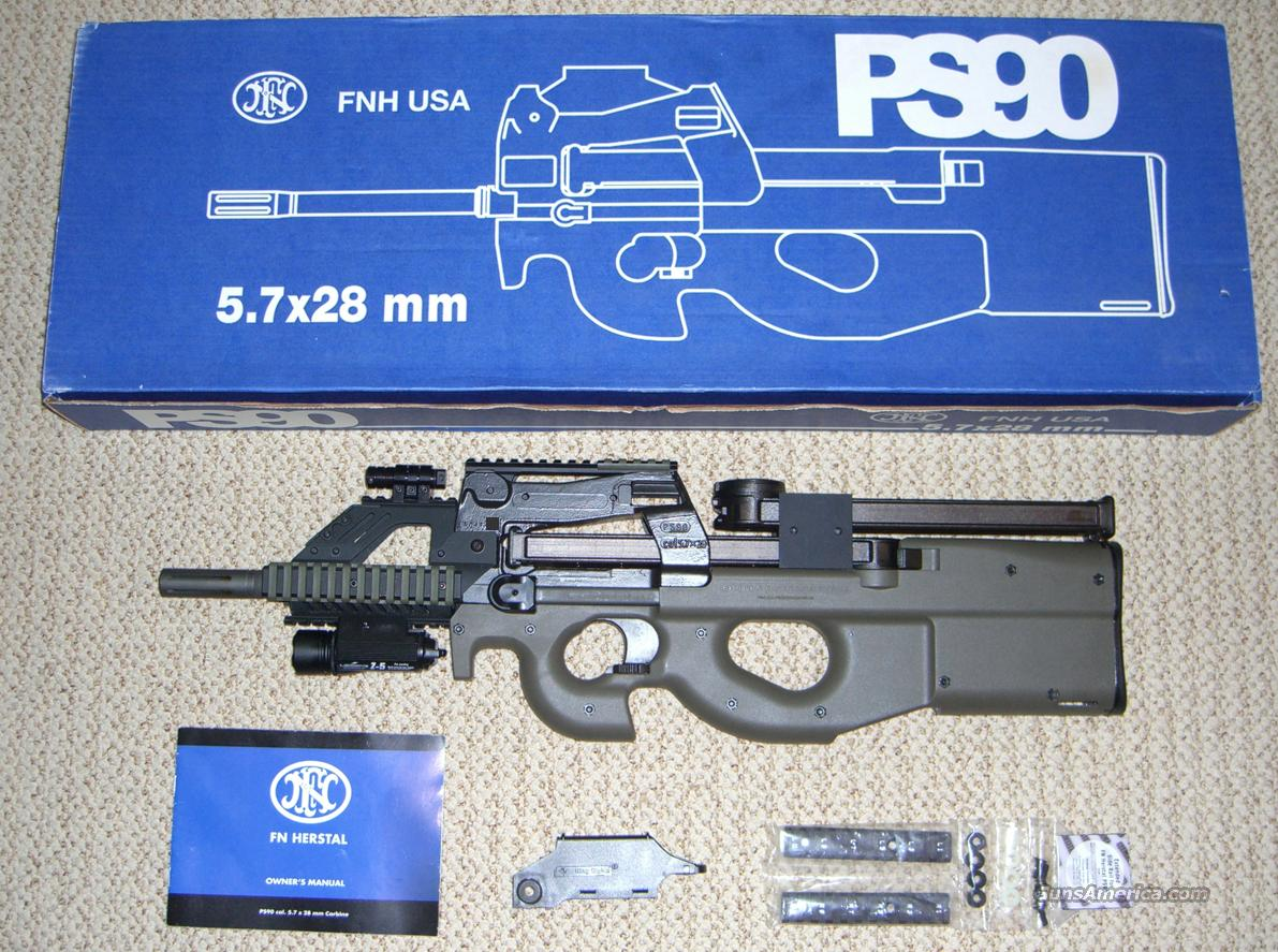 FN PS 90 with Quad Rail & Extras  Guns > Rifles > FNH - Fabrique Nationale (FN) Rifles > Semi-auto > PS90