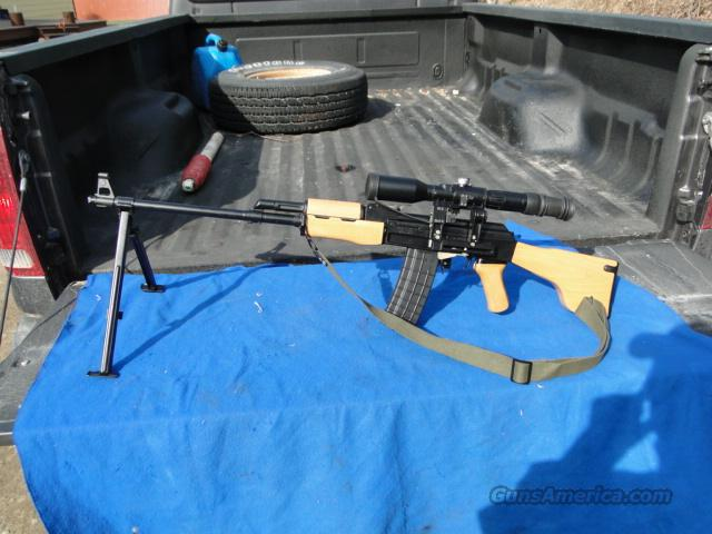 ARSENAL RPK RPK-5S RARE .223 with scope  Guns > Rifles > AK-47 Rifles (and copies) > Full Stock