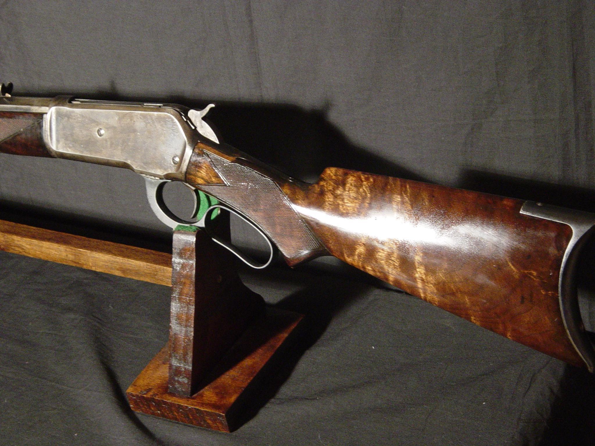 WINCHESTER 86 45-90 DELUXE  Guns > Rifles > Winchester Rifles - Pre-1899 Lever