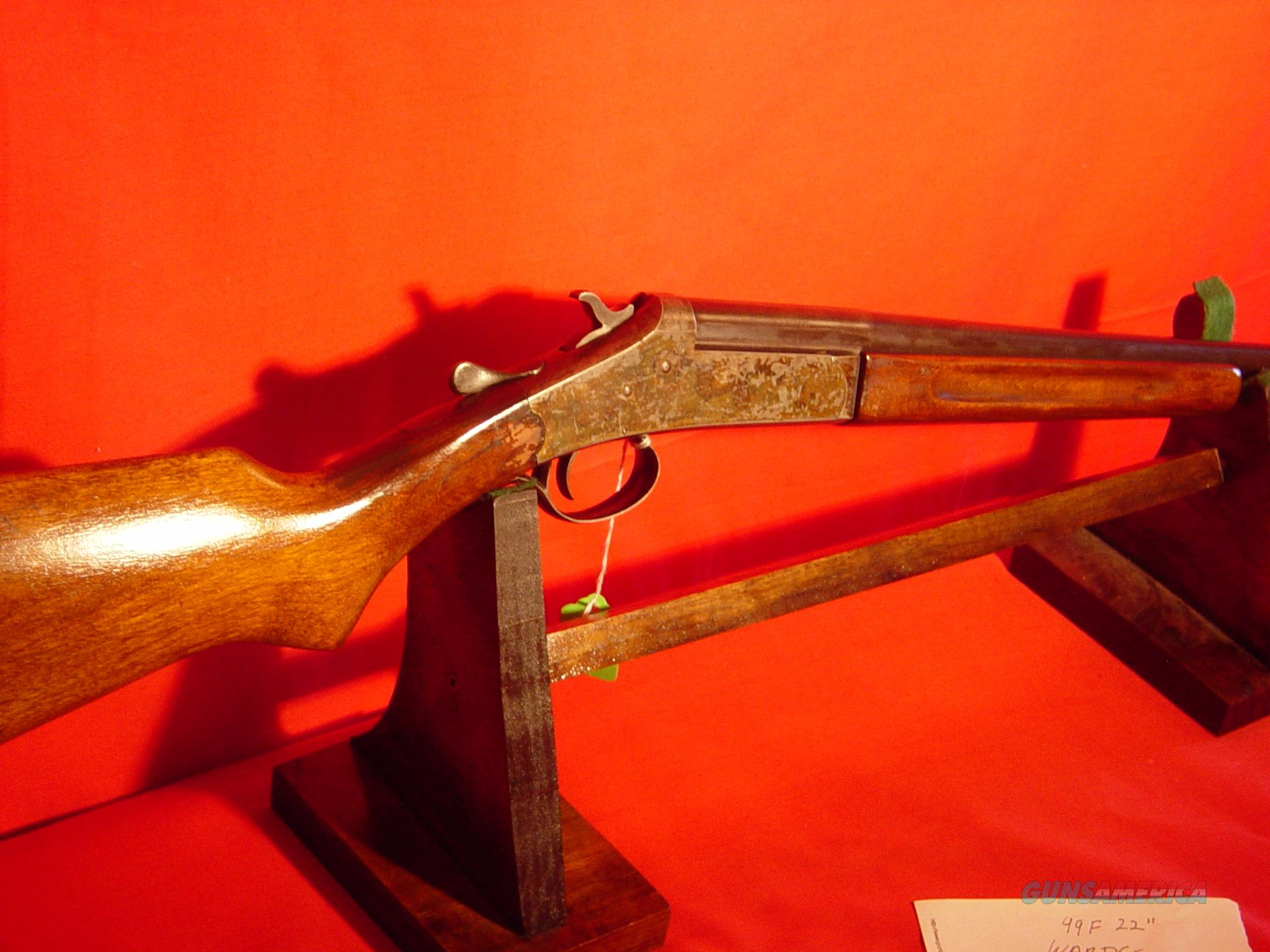IVER JOHNSON  410  SINGLE SHOT  Guns > Shotguns > Iver Johnson Shotguns