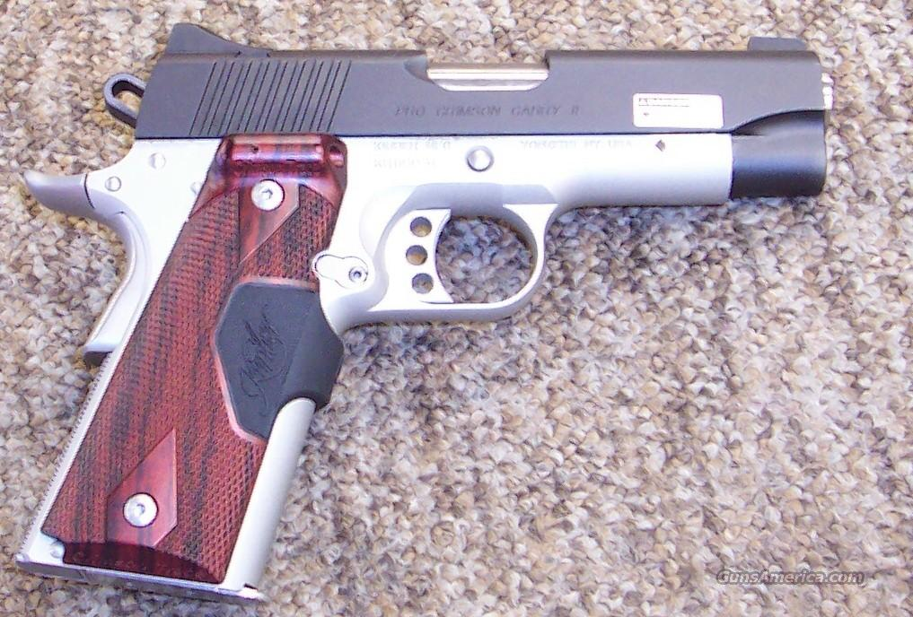 Kimber Pro Crimson Carry II  Guns > Pistols > Kimber of America Pistols