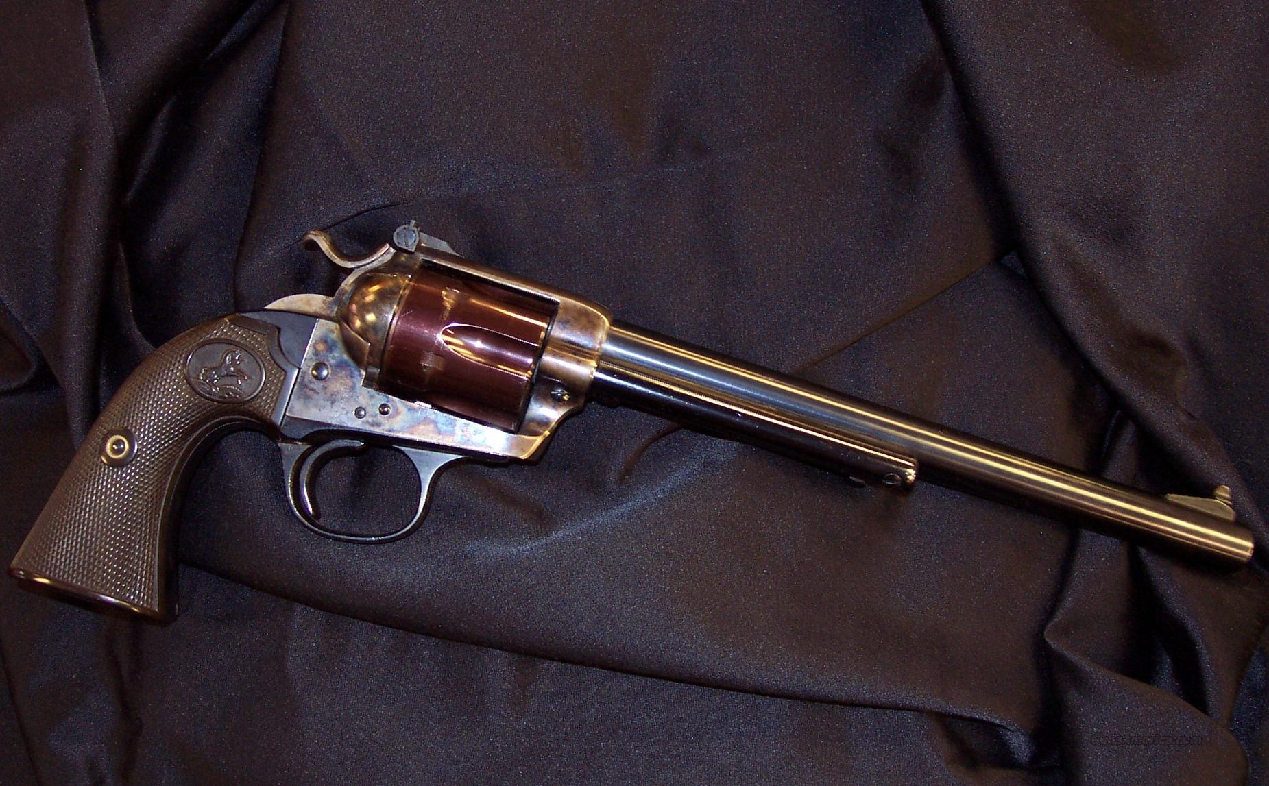 Colt Bisley  Guns > Pistols > Colt Single Action Revolvers - 1st Gen.