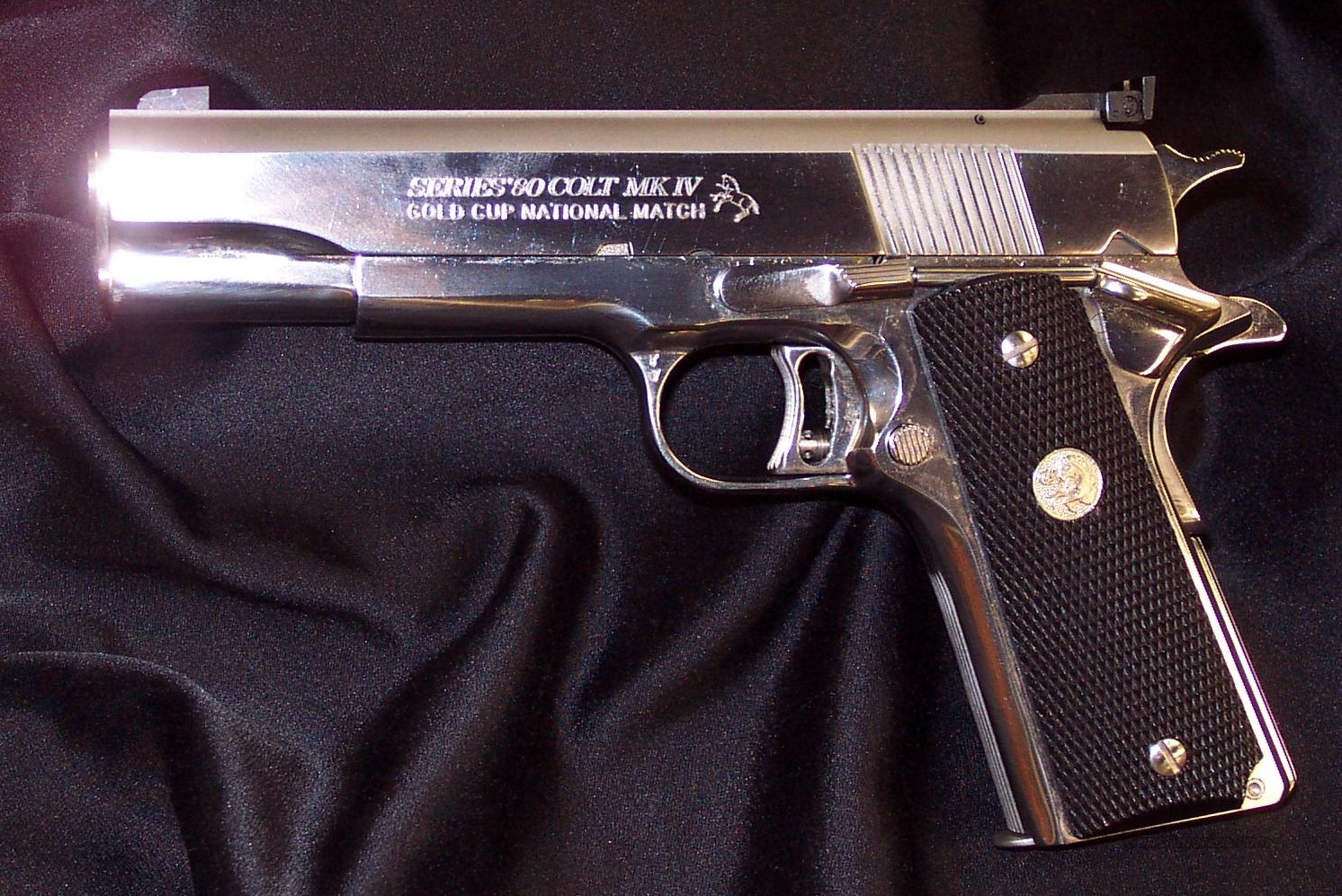 Colt Ulimate Gold Cup Nation Match  Guns > Pistols > Colt Automatic Pistols (1911 & Var)