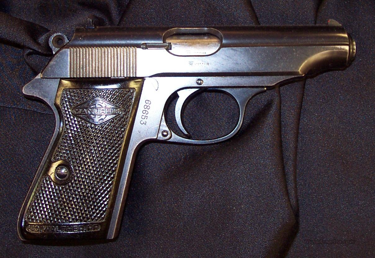Walther-Manurhin  PP  Guns > Pistols > Walther Pistols > Post WWII > PP Series