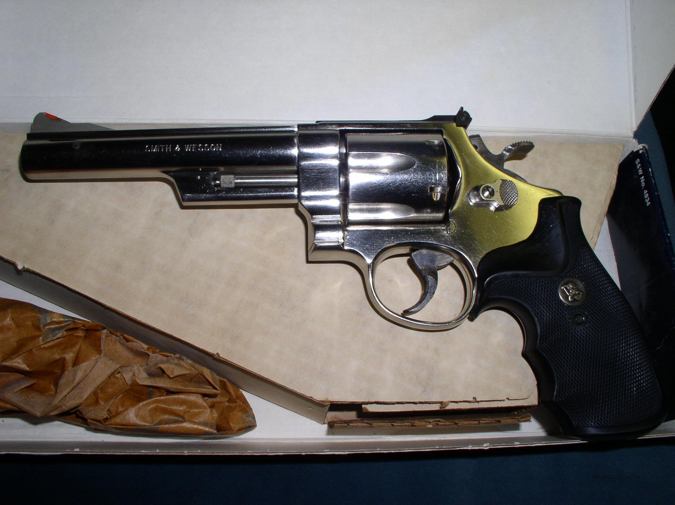 "Smith & Wesson 29-3 Nickle 6""  Guns > Pistols > Smith & Wesson Revolvers > Full Frame Revolver"