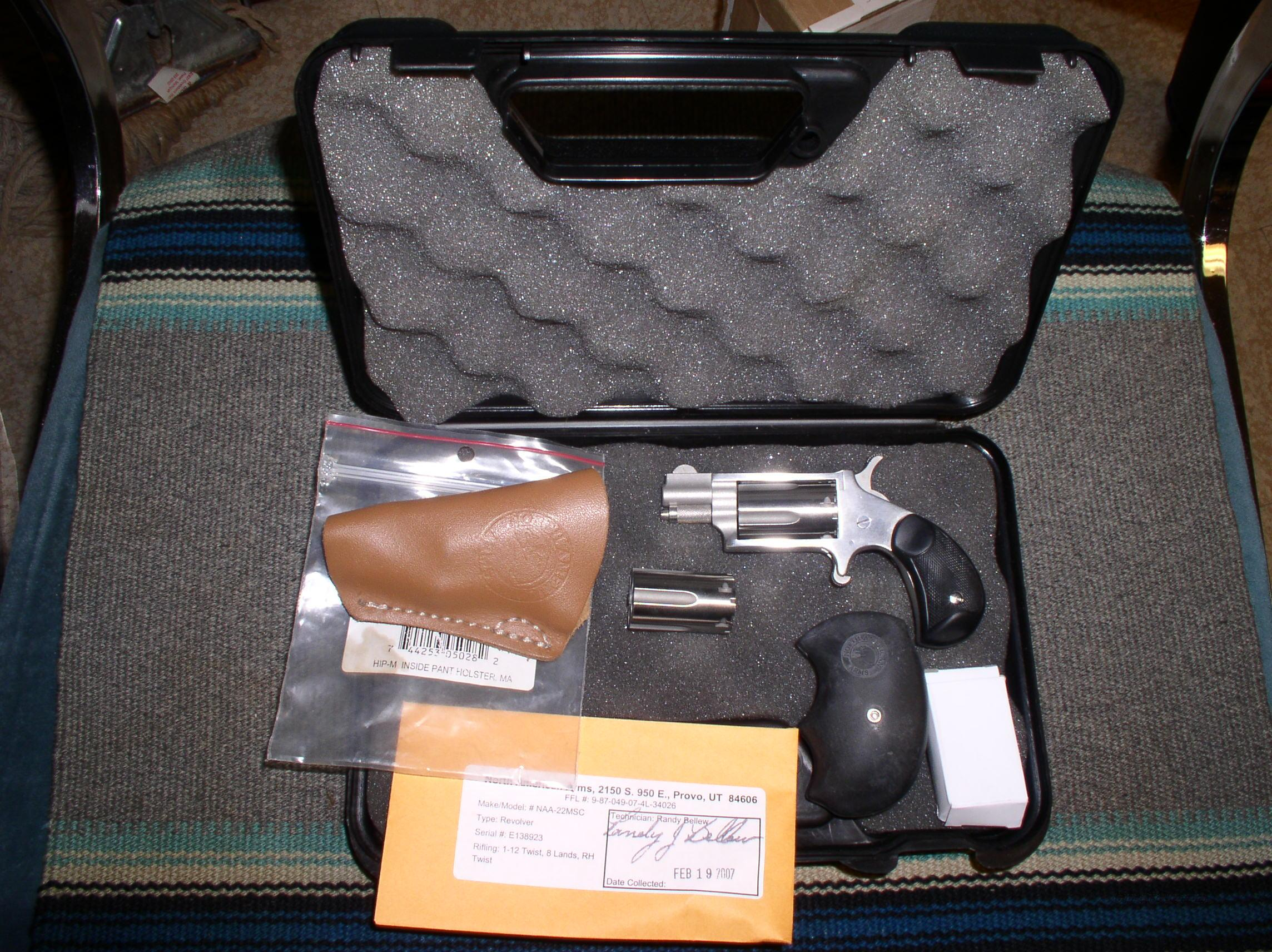 NORTH AMERICAN ARMS MINI 22 REVOLVER COMBO    Guns > Pistols > North American Arms Pistols