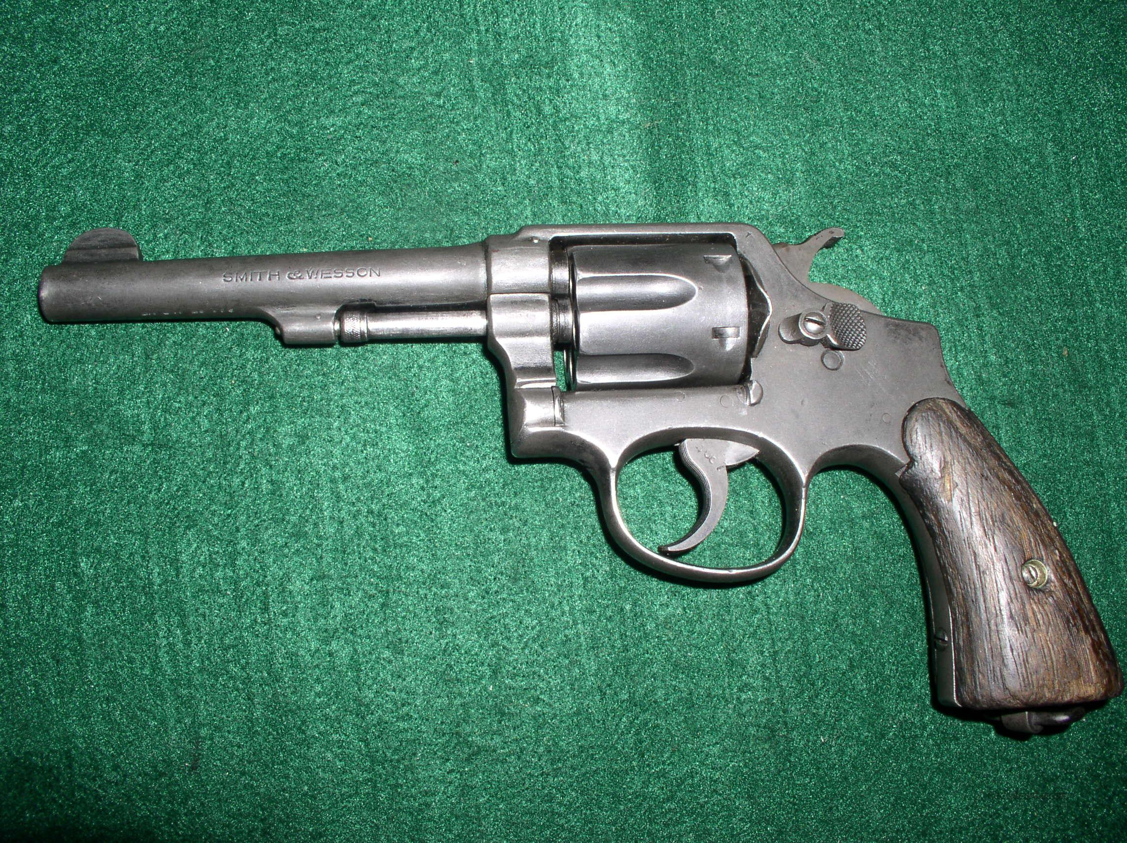 "SMITH & WESSON ""VICTORY"" 38S&W LEND LEASE MODEL  Guns > Pistols > Smith & Wesson Revolvers > Pre-1945"