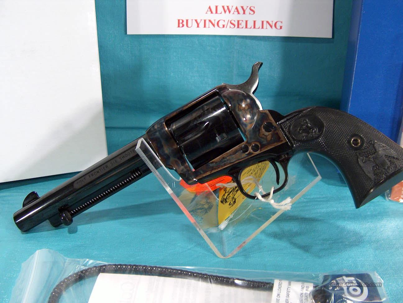 "COLT -""FRONTIER SIX SHOOTER"" MODEL P2950FSS - SINGLE ACTION ARMY - 5.5"" BARREL - BLUE FINISH  Guns > Pistols > Colt Single Action Revolvers - 3rd Gen."