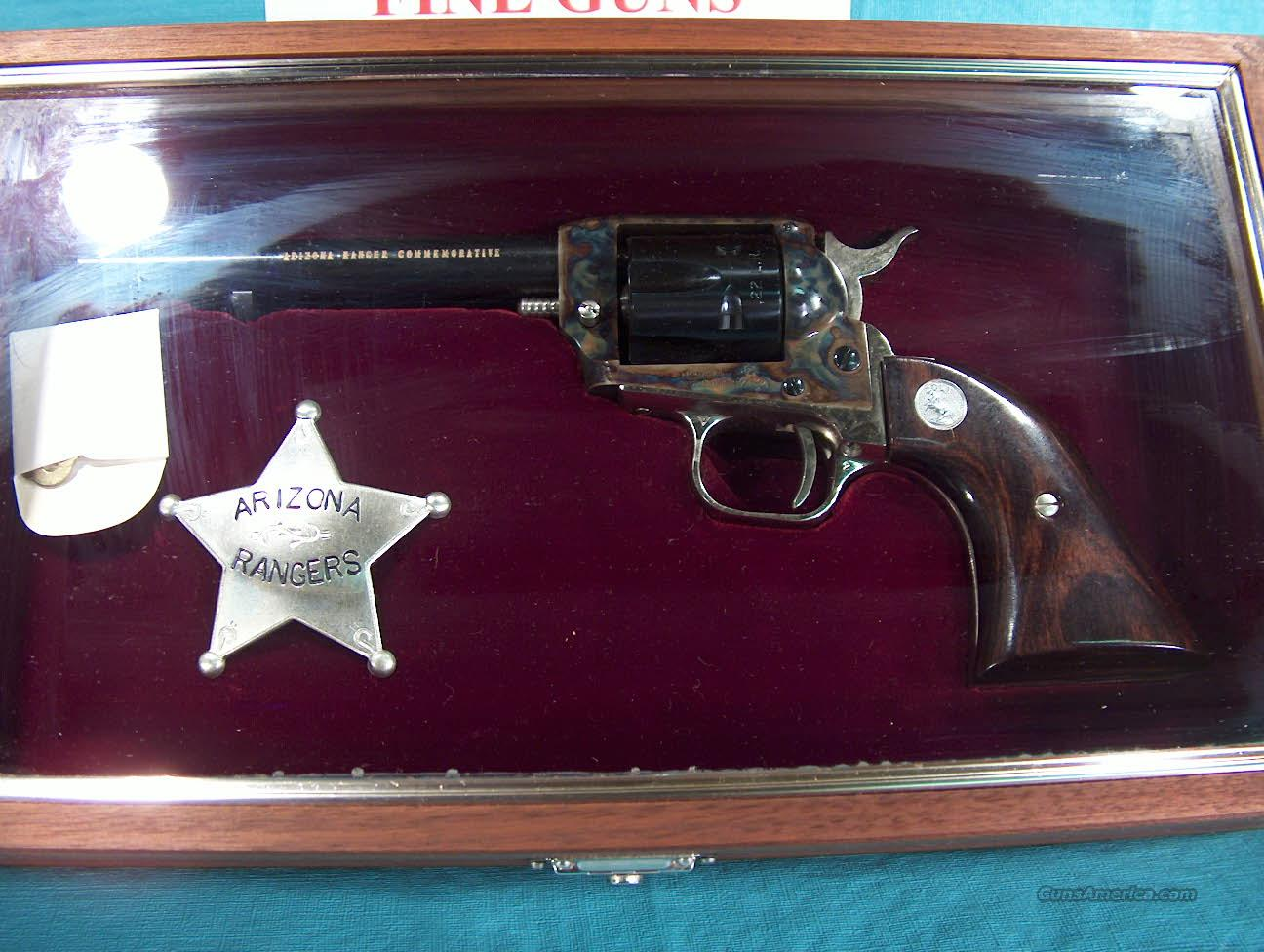 COLT ARIZONA RAMGER COMM. WITH DISPLAY CASE  Guns > Pistols > Colt Commemorative Pistols