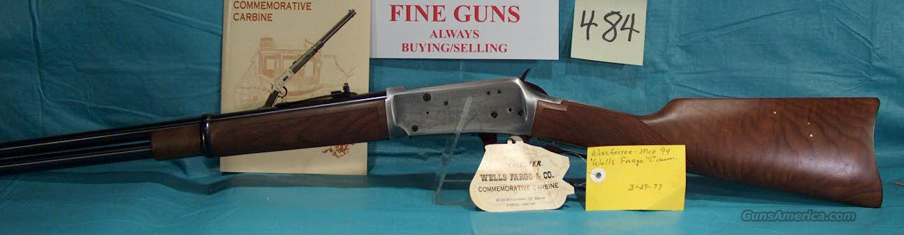 WINCHESTER MODEL 1894 WELLS FARGO COMMEMORATIVE CARBINE  Guns > Rifles > Winchester Rifle Commemoratives