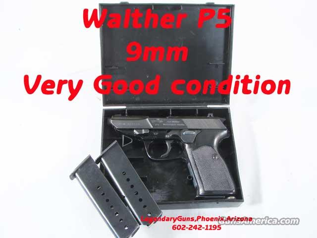 Walther P-5 9mm 3 mags  Guns > Pistols > Walther Pistols > Post WWII > P99/PPQ